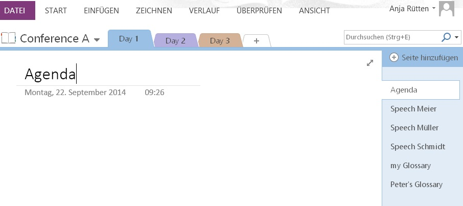 Organise your meeting documents with MS-OneNote – Sitzungsunterlagen perfekt im Zugriff mit Onenote