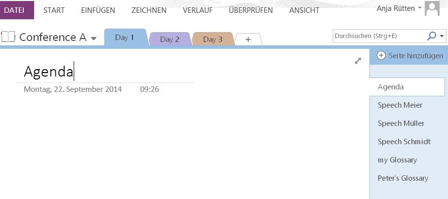 Organise your meeting documents with MS-OneNote – Sitzungsunterlagen perfekt im Zugriff mit Onenote