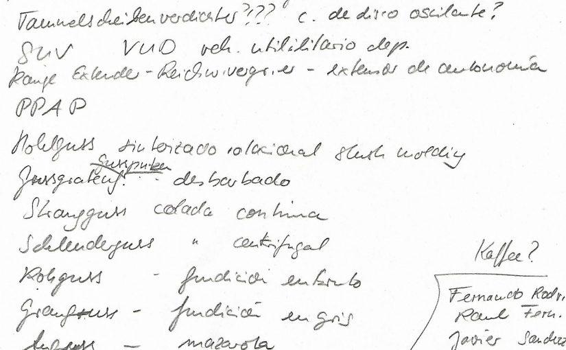 Booth notes wanted for a study | Kabinenzettel für Studienzwecke gesucht