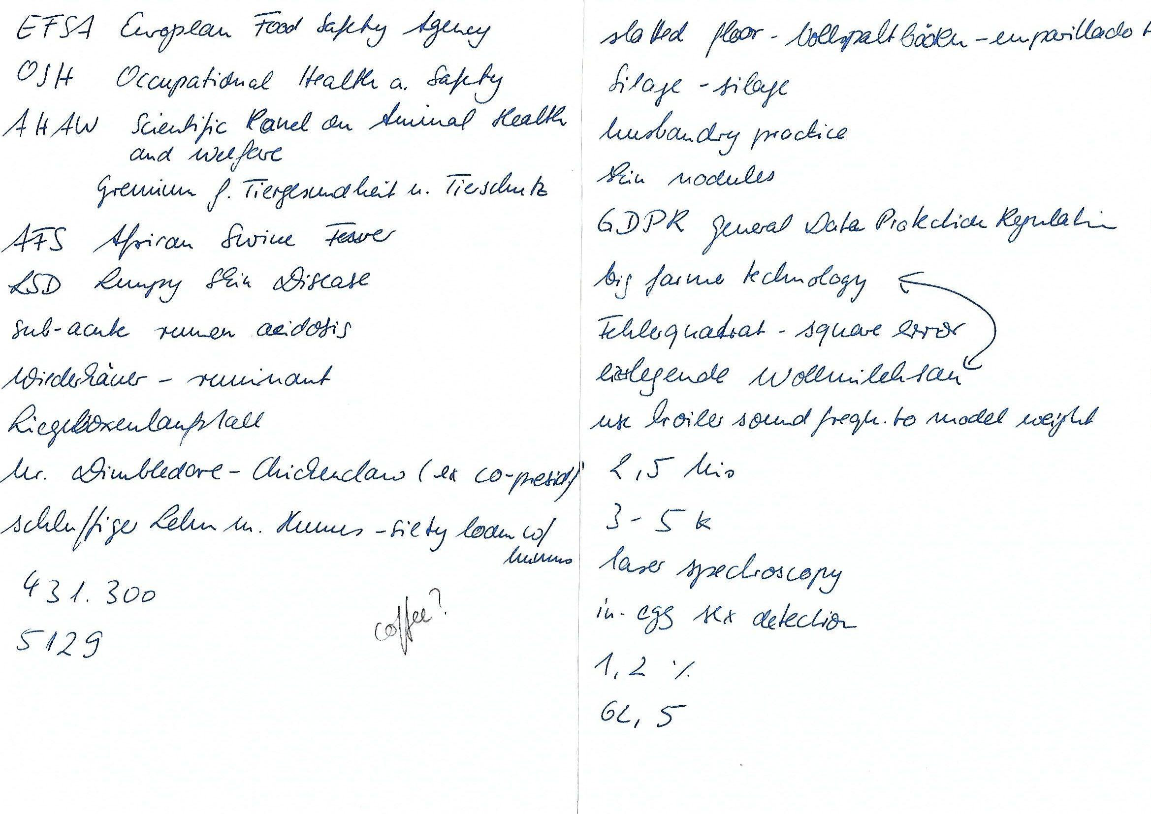 Notizentechnik Symbole