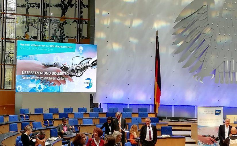#multitalkingfähig – Eindrücke vom BDÜ-Kongress 2019 in Bonn