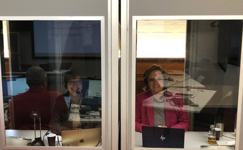 Simultaneous interpreting in the time of coronavirus – Boothmates behind glass walls
